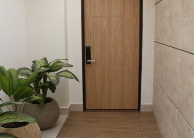 Hall entrada apartamento
